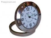 Petite horloge ronde avec caméra