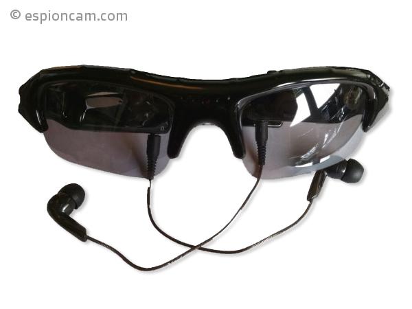 Lunettes de soleil MP3 avec caméra - EspionCam.com 63d4fe1d1fc2